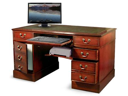 Oppdatert Balmoral Skrivebord for PC | Mestermøbler JO-45