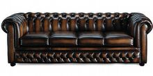 4-seters sofa fra Chesterfield Roche